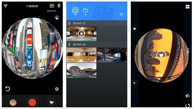 okaa 360 panorama camera app