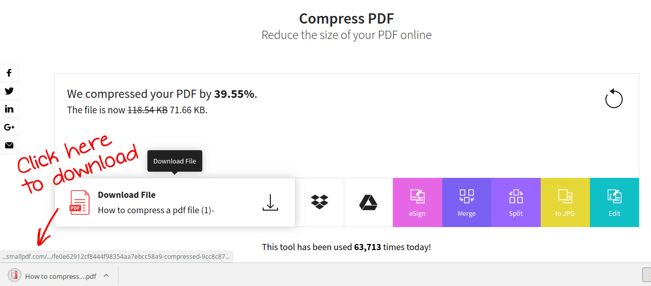 how to reduce pdf file size using online compressors