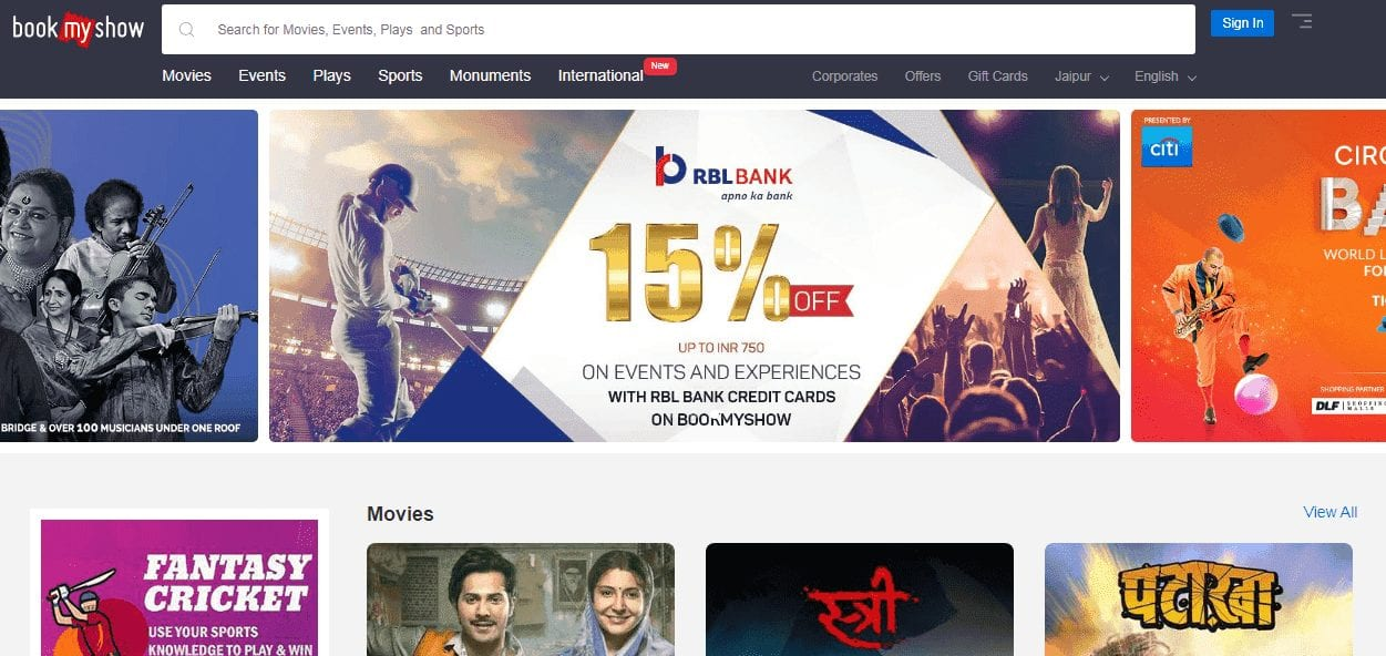 How To Book Movie Ticket Online In Advance By Paytm, BookmyShow