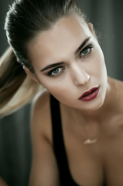 woman, fashion, portrait