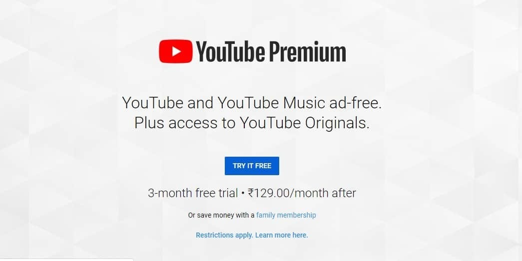 YouTube Premium (Red) India: Price, Reviews, Features & Benefits