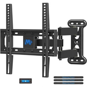 "Mounting Dream TV Mount Full Motion with Perfect Center Design (For 26"" to 55"" TV)"