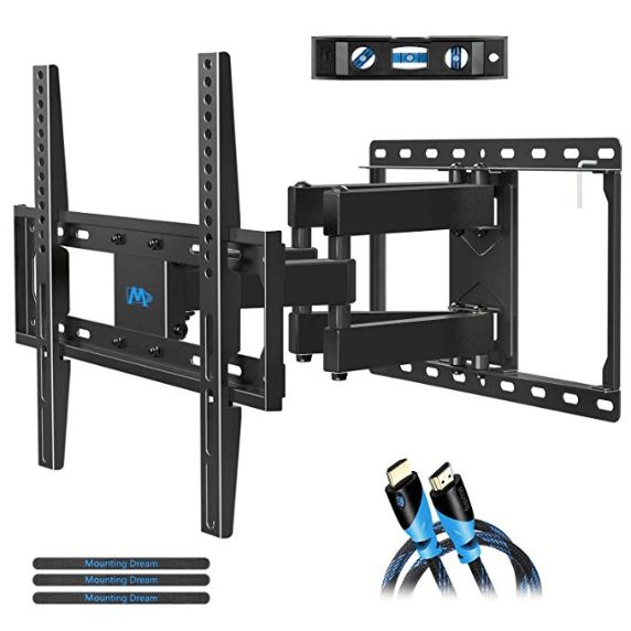 Mounting Dream Full Motion Tv Mount With Swivel Ling And