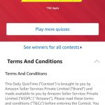 Amazon Quiz 12th June, 2019