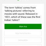 Amazon Quiz Time 14th June, 2019 Answer 1