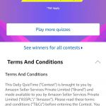 Amazon Quiz Time 14th June, 2019 Well done!