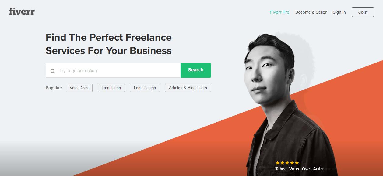 Fiverr - Freelance Services Marketplace for Businesses