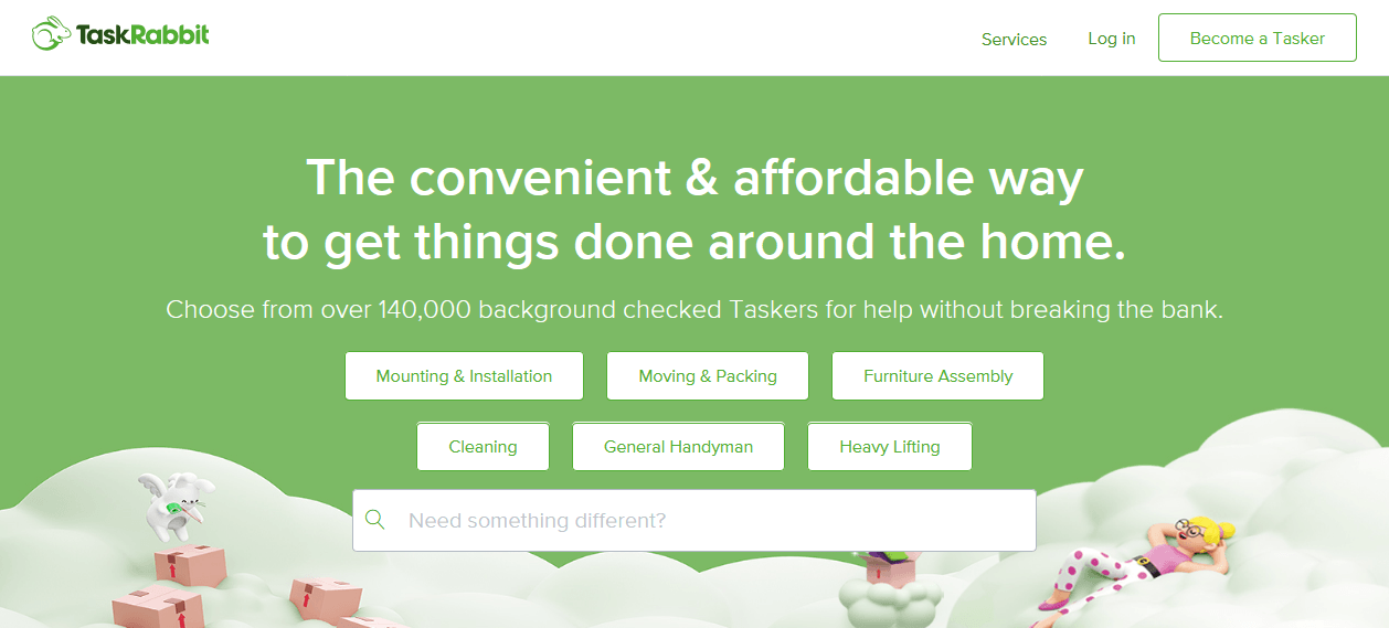 TaskRabbit connects you to safe and reliable help in your neighborhood