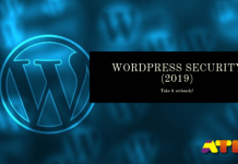 WordPress Security (2019)