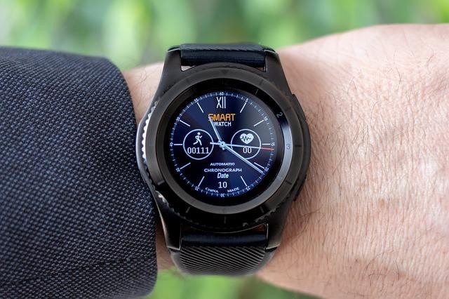 smartwatch, wrist watch, pedometer