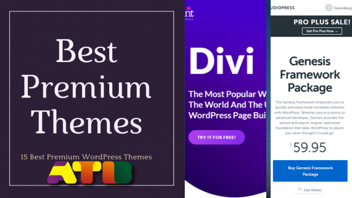 Best Premium WordPress Themes 2019