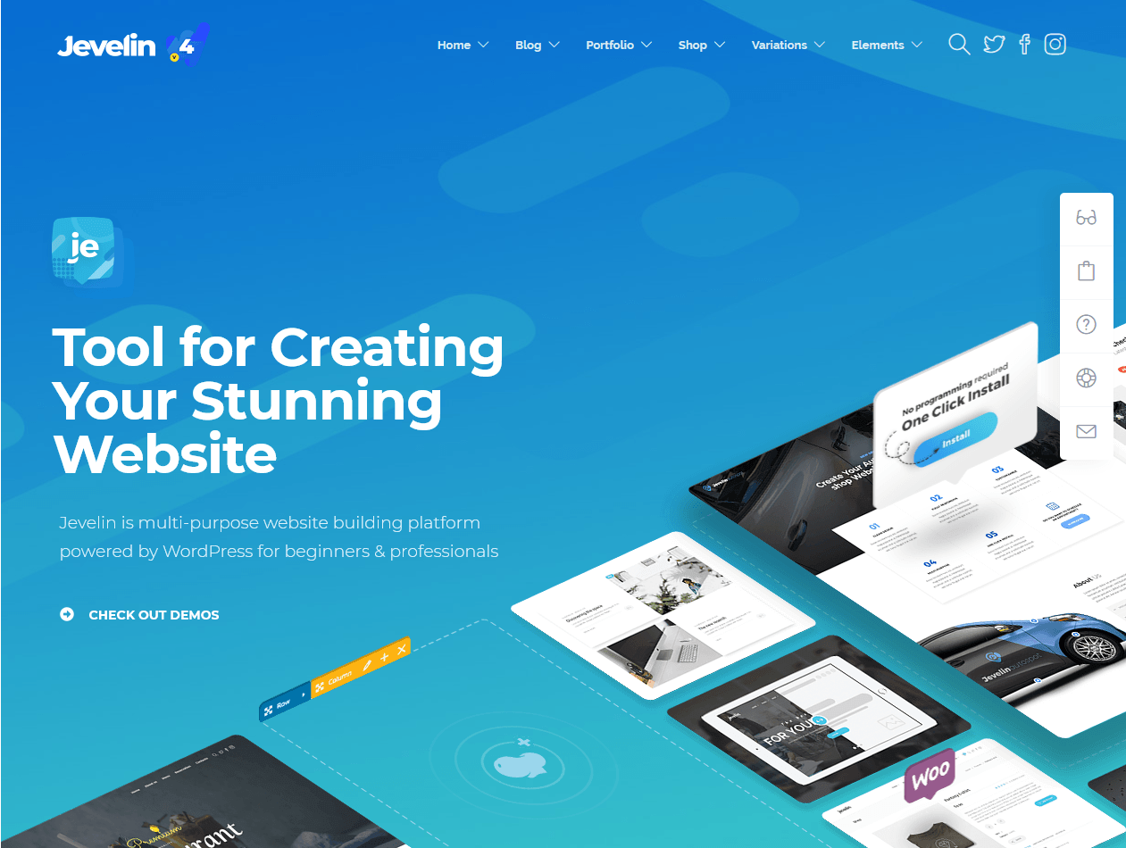 Jevelin WordPress Theme – Just another Jevelin WordPress Theme site