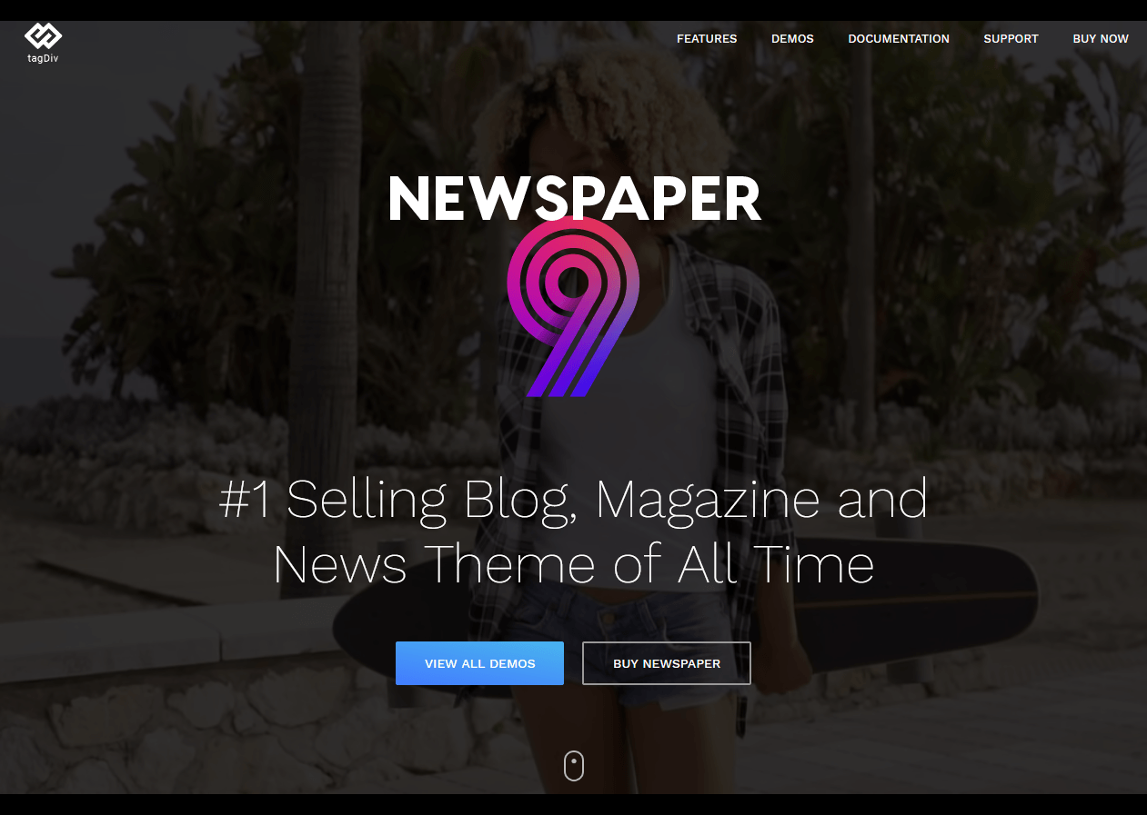 Newspaper The Best News Magazine WordPress Theme by tagDiv