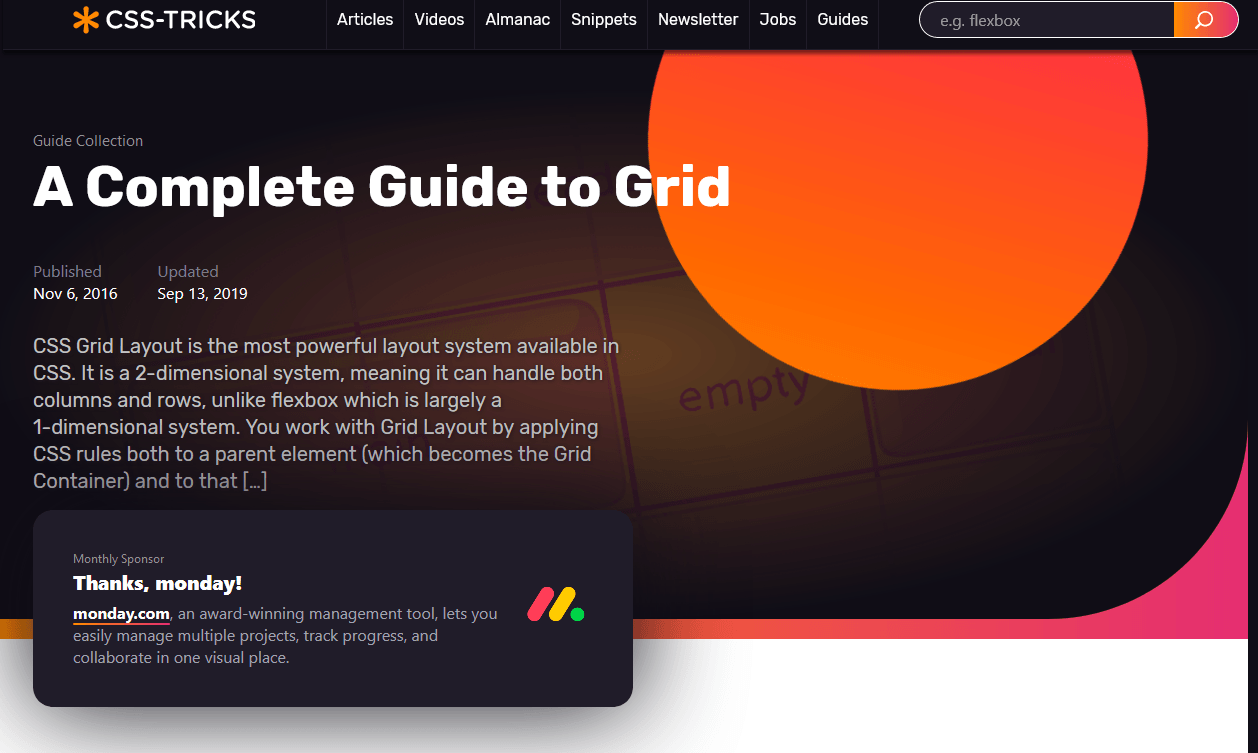 A Complete Guide to Grid CSS-Tricks