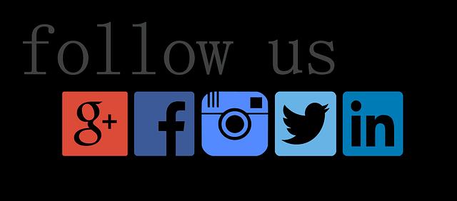 follow, facebook, twitter