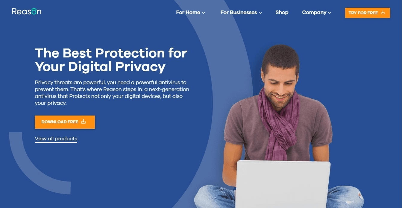 Reason Cybersecurity Review: Free Antivirus with Webcam and Microphone Protection