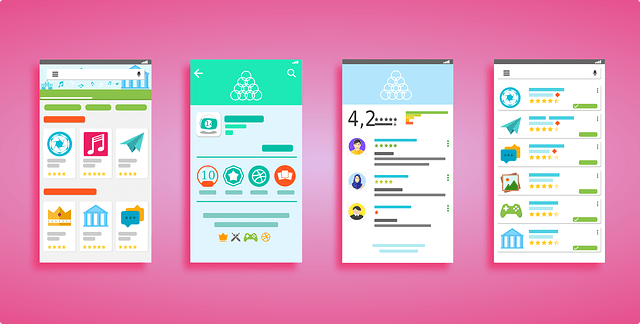 user interface, android, play store