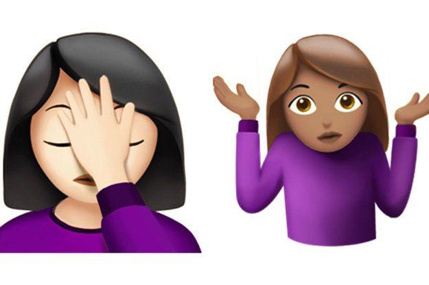 Girl Shrug Emoji
