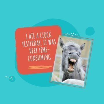 Funny Profile Picture - Clock Joke