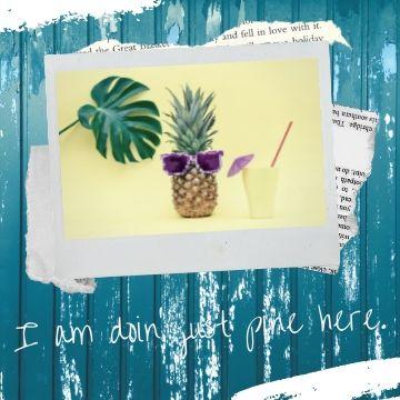 Funny Profile Picture - Pine