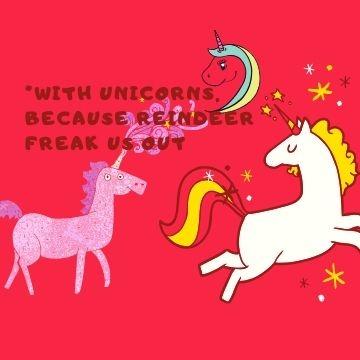 Funny Profile Picture - Unicorn