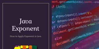 Java Exponent