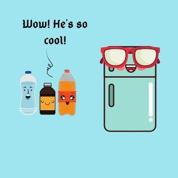 Profile Picture - Cool fridge