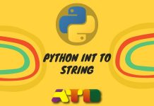 Python Int to String