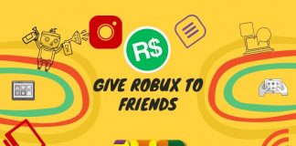 Robux to Friends