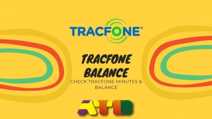 Tracfone Balance