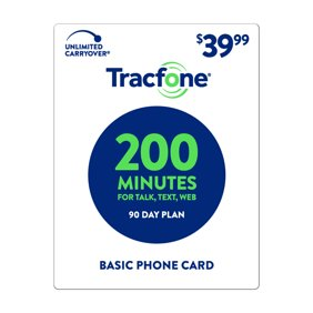 Tracfone Basic Phone Card