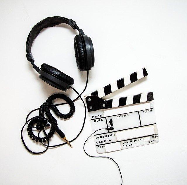 video production, headphones, lavalier
