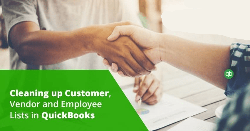 Cleaning up Customer, Vendor and Employee Lists in QuickBooks