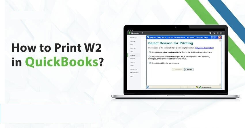 How to Print W2 in QuickBooks Desktop and Online?