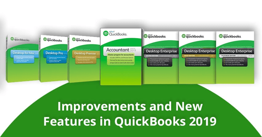 Improvements and New Features in QuickBooks 2019