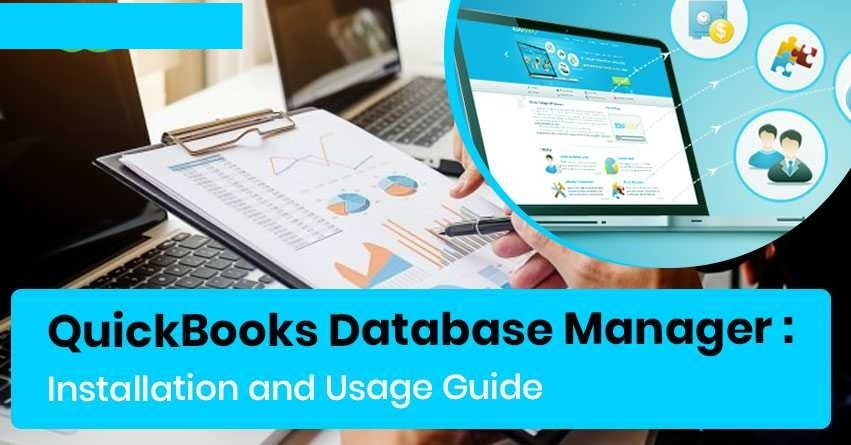 QuickBooks Database Server Manager - Install, Update and Set up