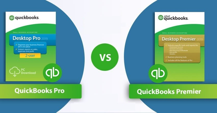 QuickBooks Pro vs Premier - A Complete Comparison