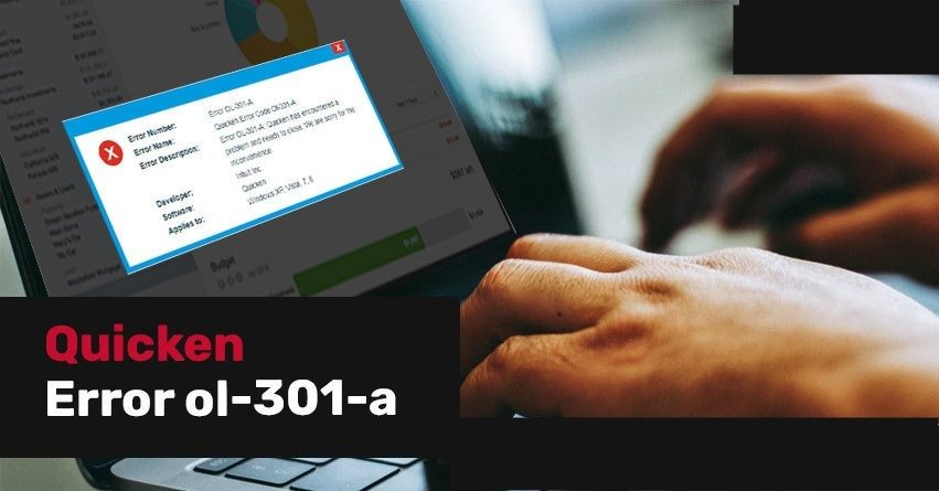 Quicken Error OL-301-a - How to Fix (Learn & Support)