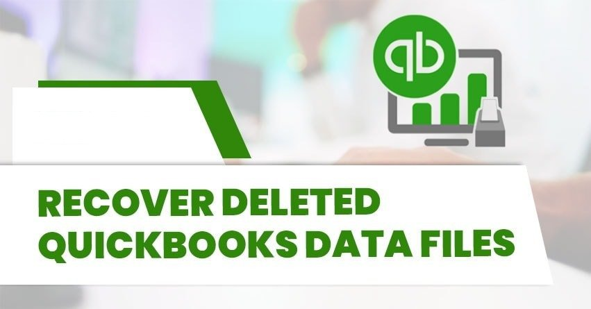Recover Deleted QuickBooks Data Files