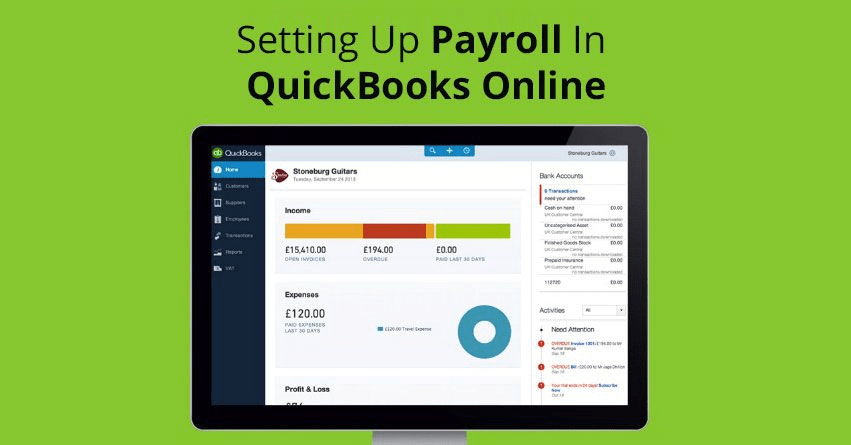 Setting Up Payroll In QuickBooks Online