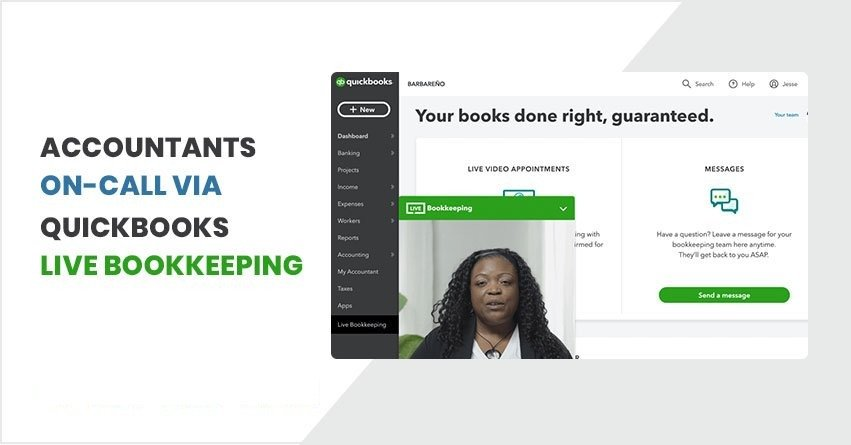 What is QuickBooks Live Bookkeeping?