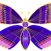 butterfly, jeweled, jewel
