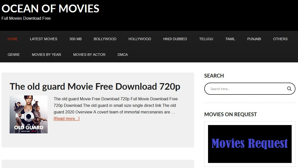 Ocean Of Movies – A Complete Review