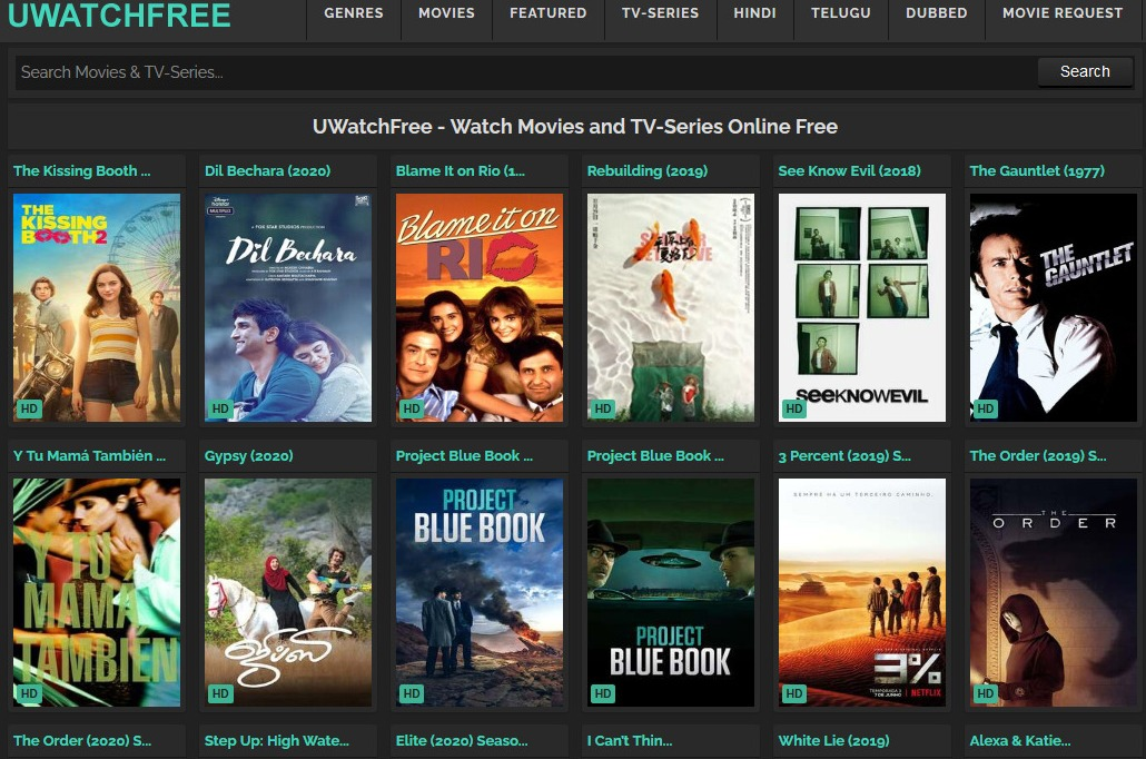 UWatchFree Review – Fast & Free Movie Streaming & Download