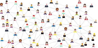 Social Media, Connections, Networking, Business, People
