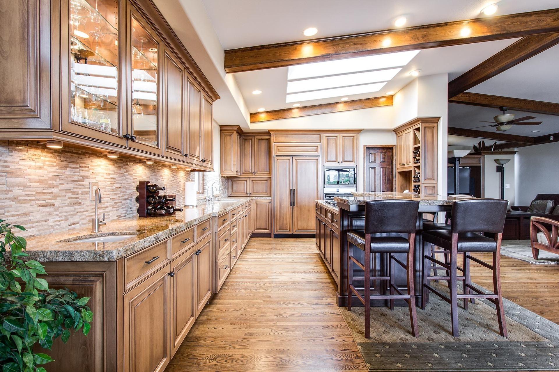 kitchen, dining, interior